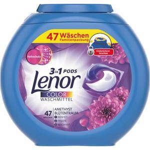 Lenor 3in1 Pods Colorwaschmittel Amethyst Blütentraum, 4 0.21 EUR/1 WL
