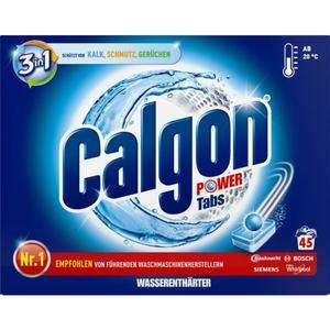 Calgon 3in1 Power Tabs Wasserenthärter 45 WL 0.18 EUR/1 WL