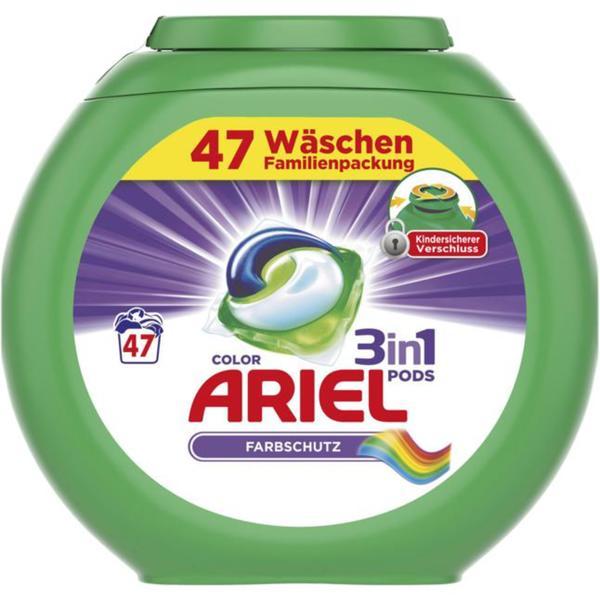 Ariel 3in1 Pods Colorwaschmittel 47 WL 0.21 EUR/1 WL