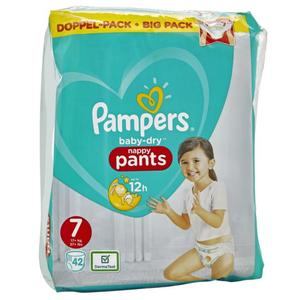 Pampers Baby Dry Pants Gr. 7 (17+ kg) Doppel-Pack