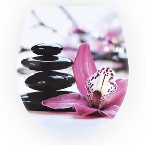 badkomfort WC Sitz Slim - Orchidee
