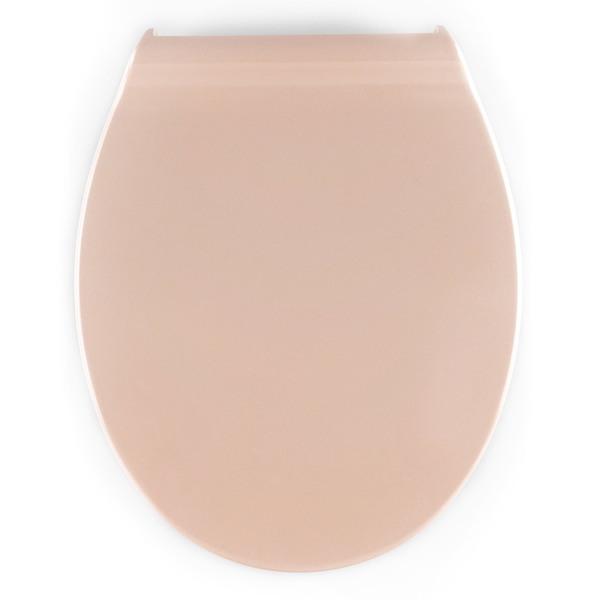badkomfort WC-Sitz Slim - Beige
