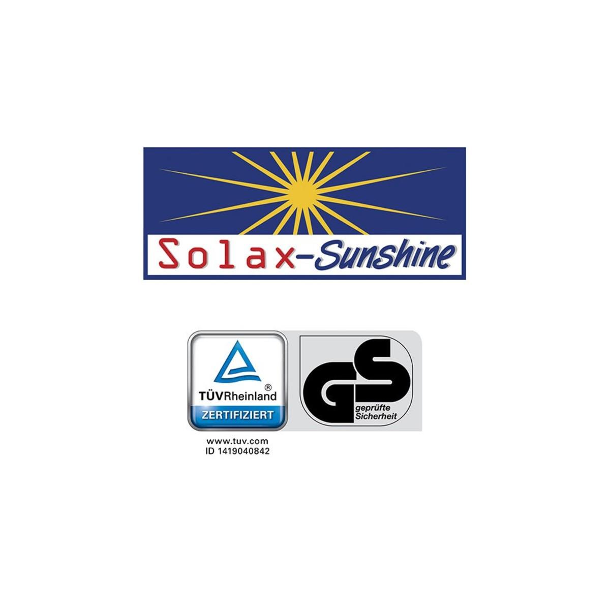 Bild 3 von Solax-Sunshine XXL Komfort- Sonnenliege - Schwarz