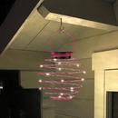 Bild 2 von EZSolar LED Solar Spiral-Lampion, Ø 12cm, Pink - 2er Set