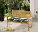 Bild 1 von Solax-Sunshine Sitzbank-Auflage, Karo Grün-Grau