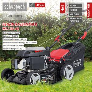 Scheppach Benzin-Rasenmäher MS146-42