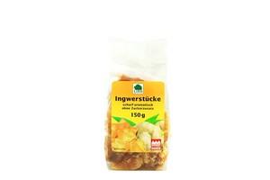 Lihn  Ingwerstücke ohne Zucker 150 g