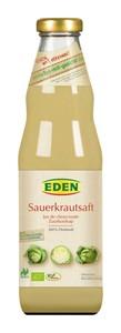 EDEN Bio Sauerkrautsaft mit Salz 750 ml