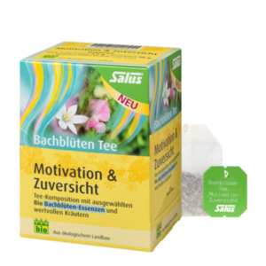 "Salus Bio Bachblüten Tee ""Motivation & Zuversicht"" 15 Filterbeutel"