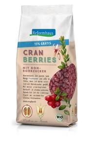 Reformhaus Bio Cranberries leicht gesüßt 520 g
