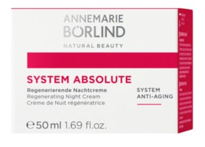 ANNEMARIE BÖRLIND  system absolute Anti-Aging Regenerierende Nachtcreme  50 ml