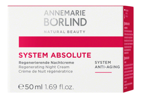 ANNEMARIE BÖRLIND  system absolute Anti-Aging Regenerierende Nachtcreme  50 ml