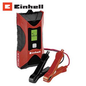 Batterie-Lade-/Erhaltungsgerät CC-BC 4 M geeignet für 6- und 12-V-Batterien, mehrstufiger Lademodus, Erhaltungsladung, Überladungs-, Kurzschlussund Verpolungsschutz