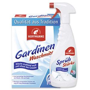 Hoffmanns Gardinen-Waschmittel 660g, Wäsche-Steife oder Sprühstärke 500ml, jede Packung/Flasche/Dose