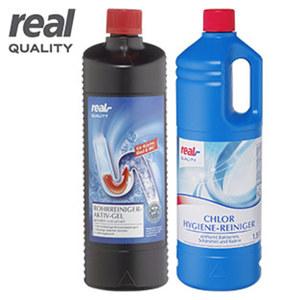 Rohrreiniger Gel 1 Liter, Chlor Hygienereiniger 1,5 Liter oder Rohrreiniger Granulat 600 g, versch. Sorten, Jede Flasche