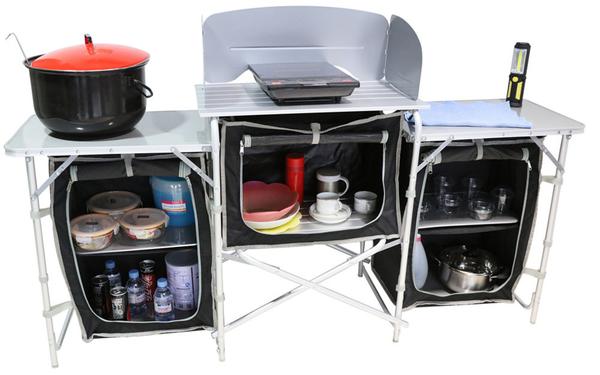 Solax-Sunshine Camping Küche XL