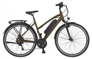 Alu-Damen-Trekking-E-Bike 28