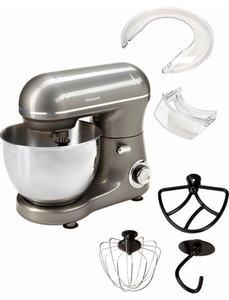 Hanseatic Küchenmaschine LW6835G1 grey, 600 Watt, Schüssel 4 Liter