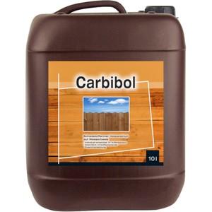 Holzlasur FLT N Carbibol 10 Liter in braun für außen