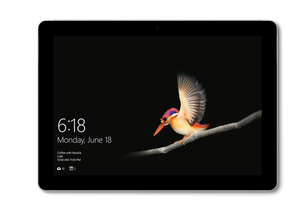Microsoft Surface Go, 25,4 cm (10 Zoll), 1800 x 1200 Pixel, 128 GB, 8 GB, Windows 10 S, Silber