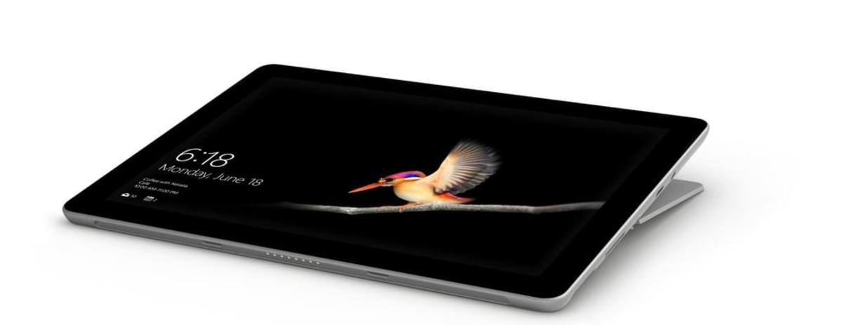 Bild 3 von Microsoft Surface Go, 25,4 cm (10 Zoll), 1800 x 1200 Pixel, 128 GB, 8 GB, Windows 10 S, Silber
