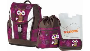 Schulranzenset Toolbag Soft 4tlg. Olivia the Owl