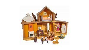 Simba - Masha und der Bär - Spielset Großes Bärenhaus