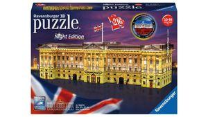 Ravensburger Puzzle - 3D Puzzle Buckingham Palace bei Nacht
