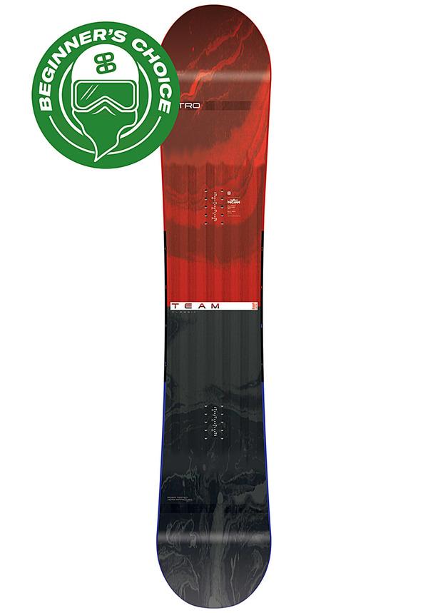 NITRO Team Gullwing Wide 165cm - Snowboard für Herren - Mehrfarbig