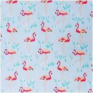 Rico Design Stoff Flamingo 140cm