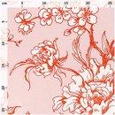 Bild 2 von Rico Design Stoff Kirschblüten puder-orange 140cm