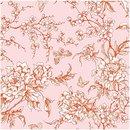 Bild 3 von Rico Design Stoff Kirschblüten puder-orange 140cm