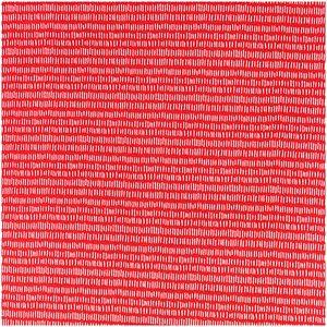Rico Design Stoff Jersey rot Striche weiß 145cm
