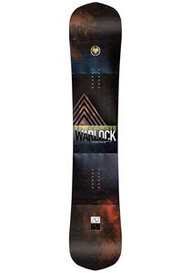 NEVER SUMMER Warlock 154cm - Snowboard für Herren - Mehrfarbig