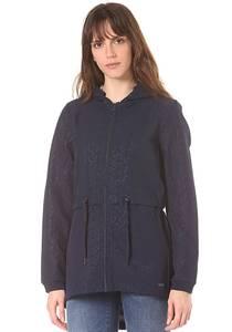 Bench. New Slim longline Bonded - Jacke für Damen - Blau