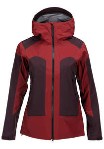 PEAK PERFORMANCE Core 3L - Outdoorjacke für Damen - Rot