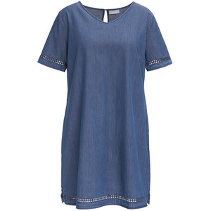 Damen Kleid in Denim-Optik