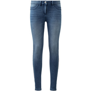 Damen Jeggings mit Galonstreifen