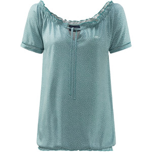 Damen T-Shirt mit feinem Allover-Print