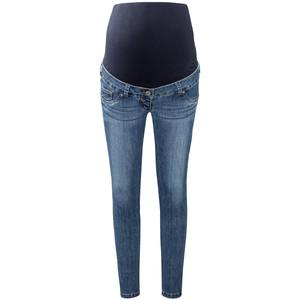 7/8 Damen Umstands-Slim-Jeans