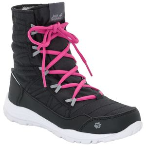 Jack Wolfskin Mädchen Freizeitschuh Portland Boot Girls 33 schwarz