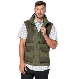 Jack Wolfskin Barstow Vest Men M grün