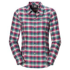 Jack Wolfskin Edmont Shirt Women XS grün