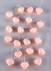 "LED-Lichterkette ""Cotton Heart"""