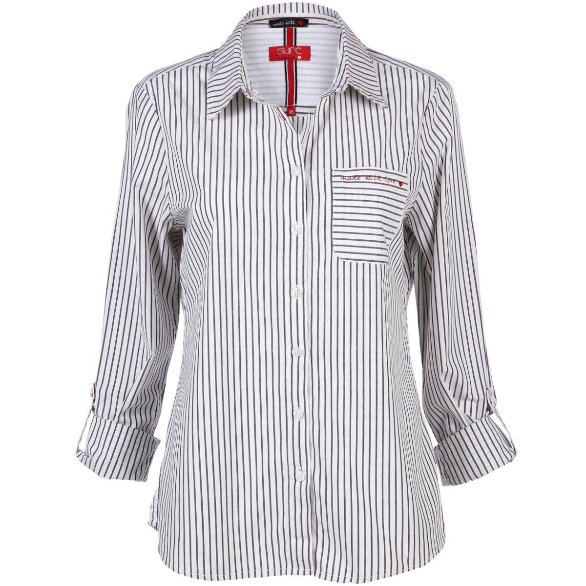 Bild 1 von Damen Bluse mit Streifen