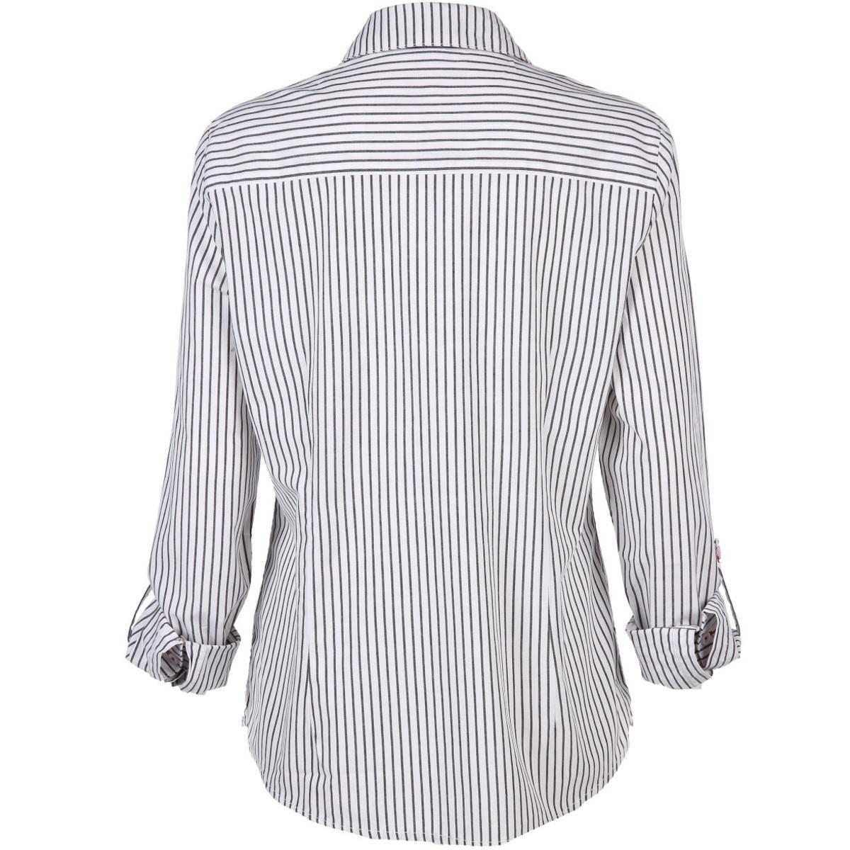Bild 2 von Damen Bluse mit Streifen