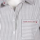Bild 3 von Damen Bluse mit Streifen
