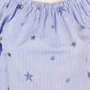 Bild 3 von Damen Carmenbluse mit aufgestickten Sternen