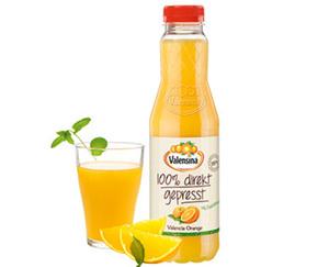 Valensina®  Valencia Orange mit Fruchtfleisch