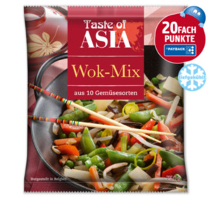 TASTE OF ASIA Wok-Mix